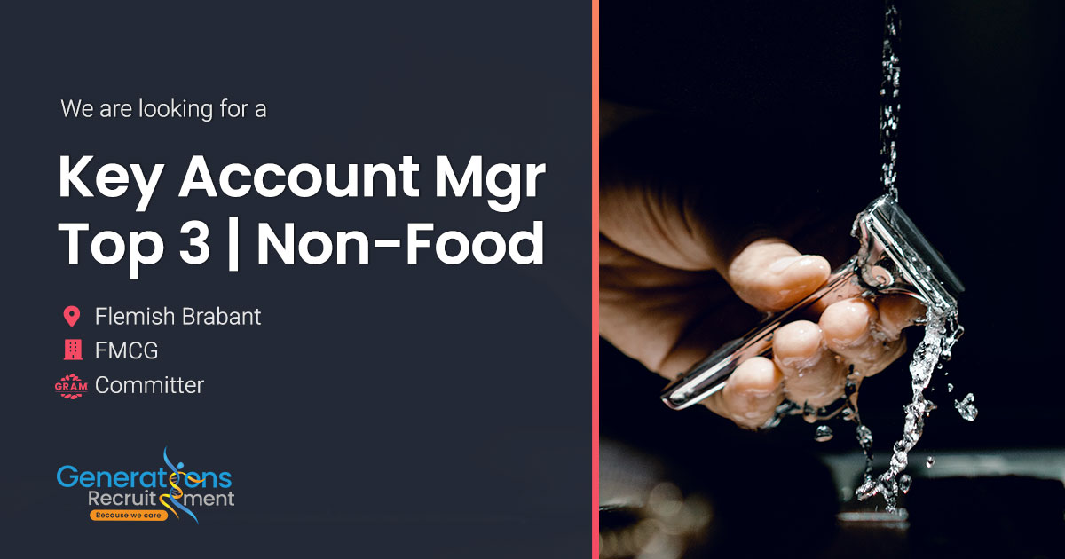 Key Account Manager Top 3 | Non-Food FMCG