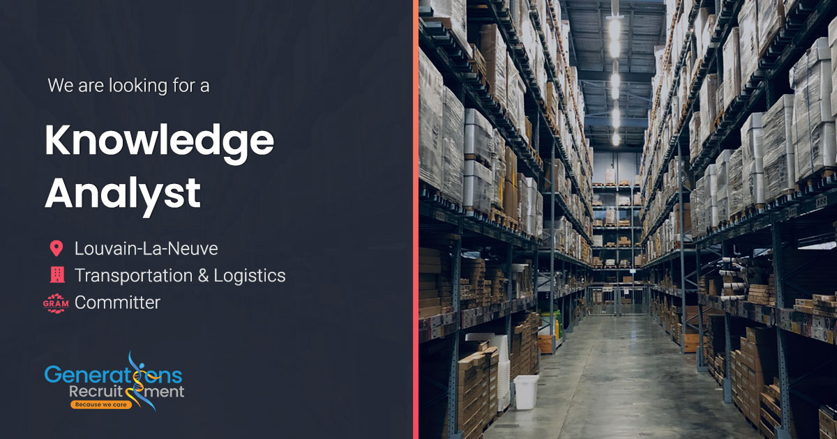 Knowledge Analyst | Transportation & Logistics