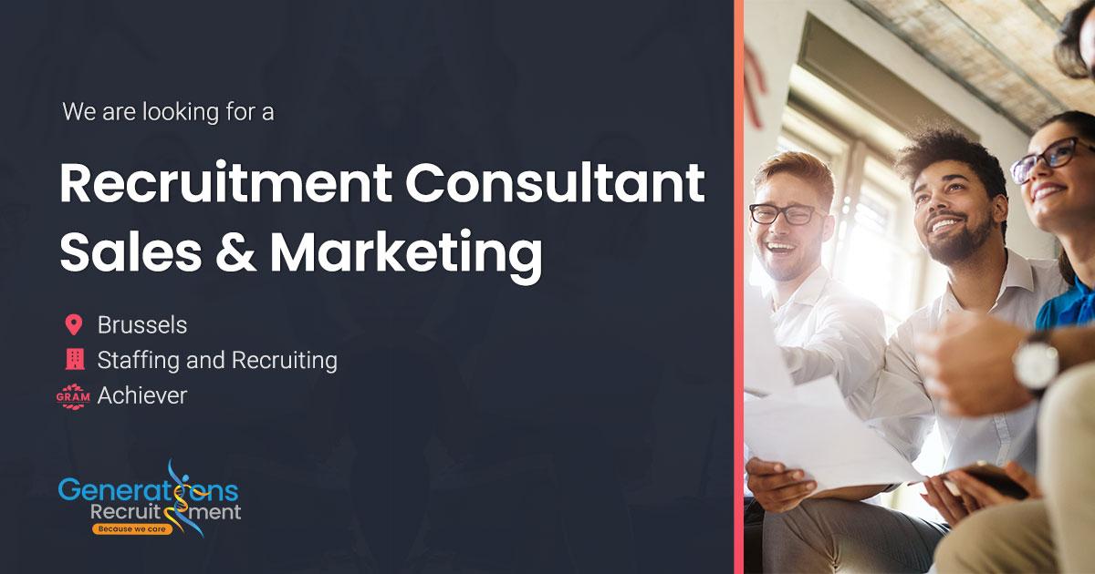 Recruitment Consultant | Sales & Marketing Specialist