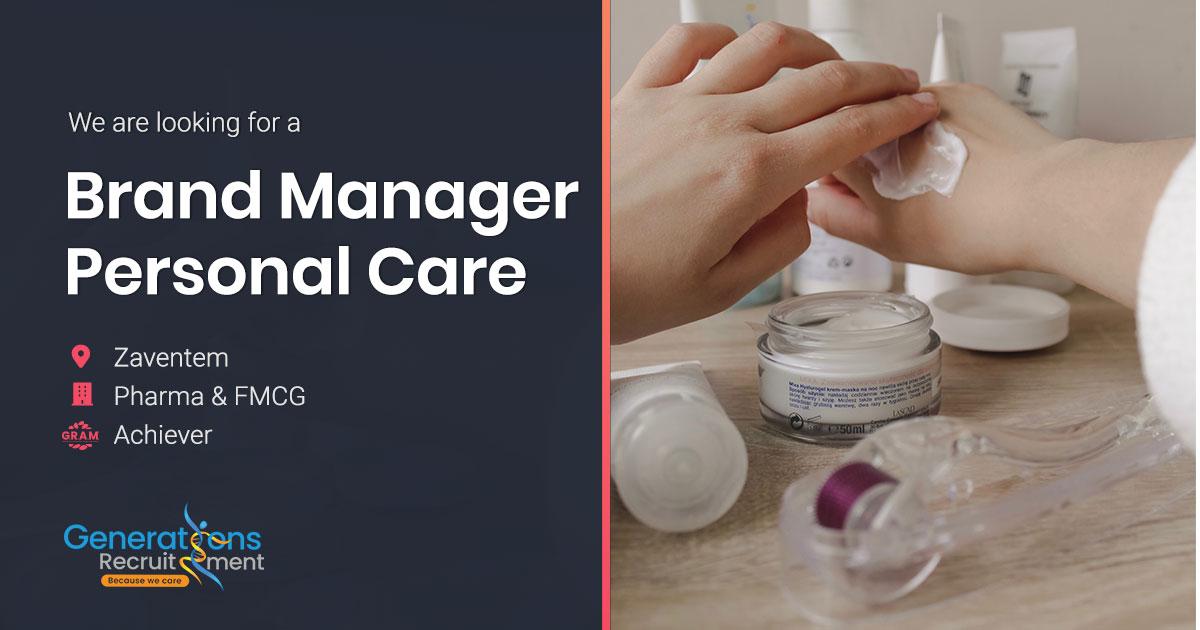 Brand Manager Personal Care FMCG & Pharma