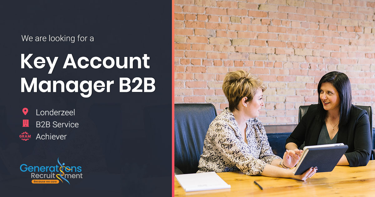 Key Account Manager B2B | Service industry