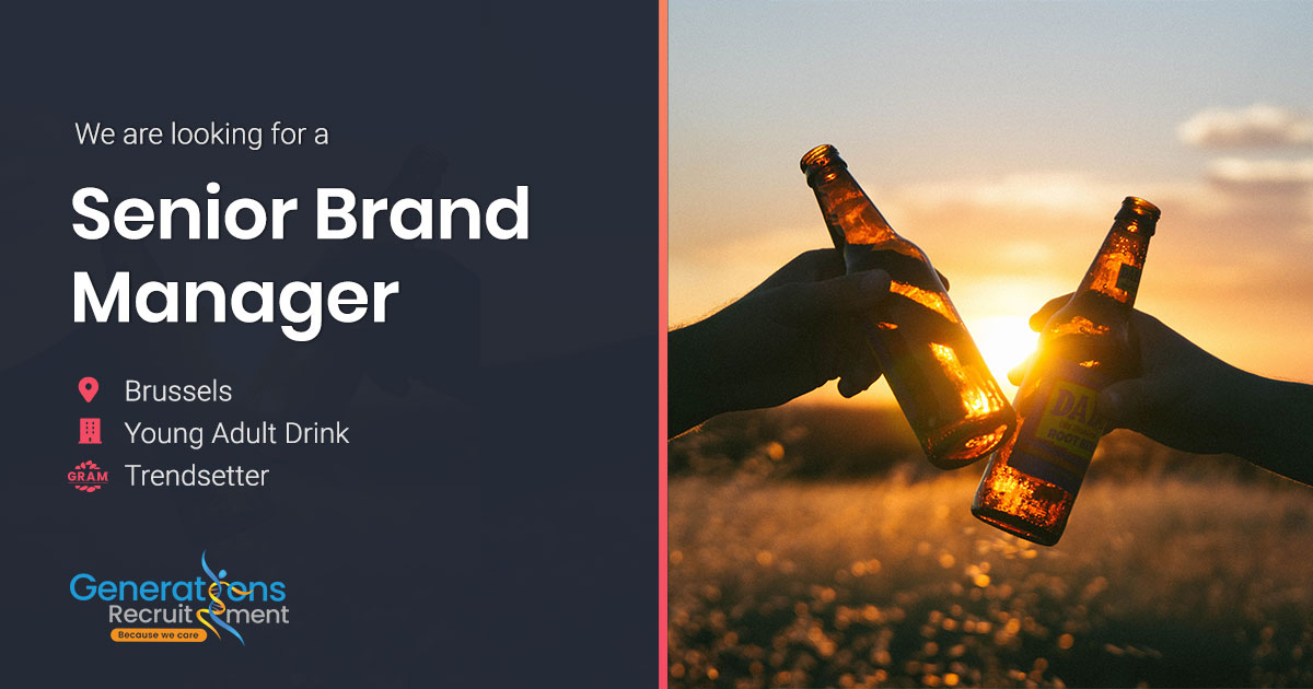 Sr Brand Manager | Young Adults Drink