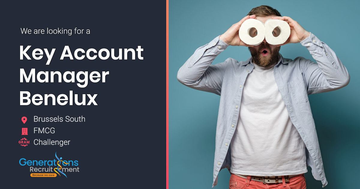 Key Account Manager Benelux   FMCG