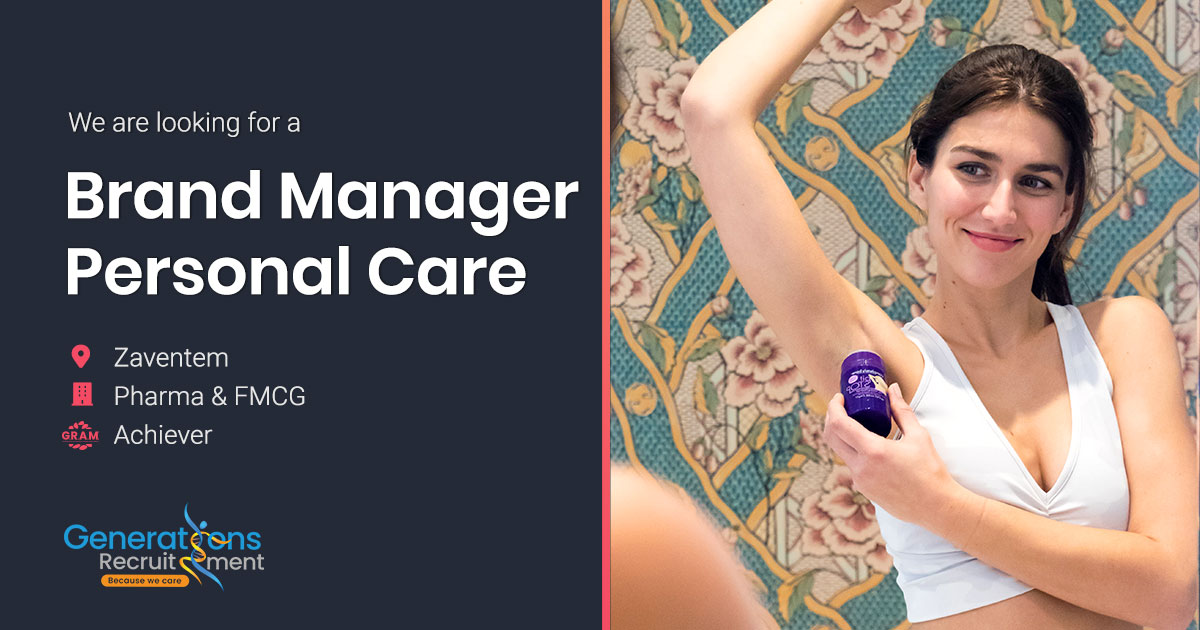 Brand Manager Personal Care FMCG & Pharma