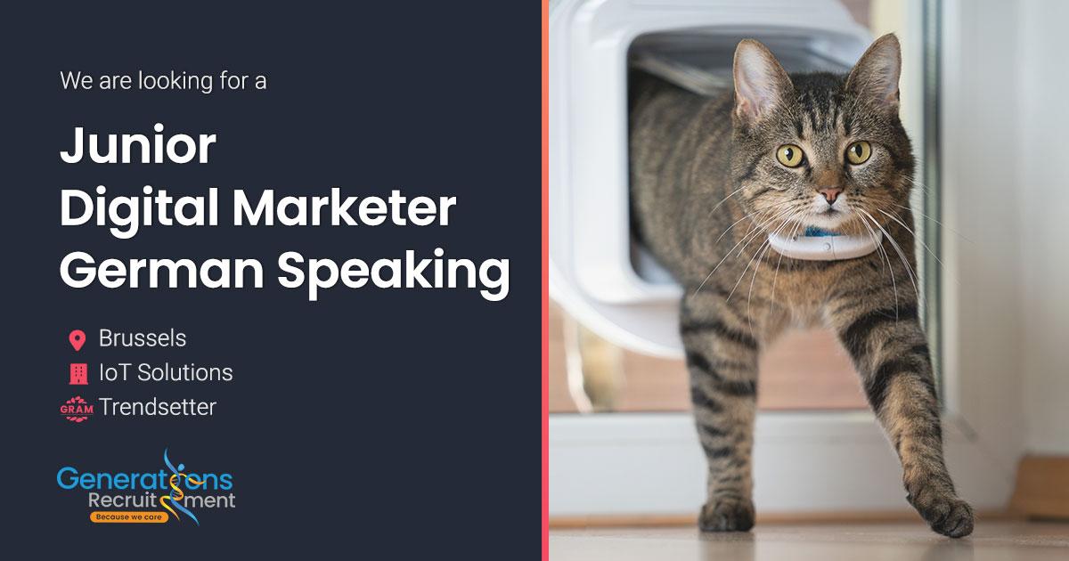 Junior Digital marketer - German speaking  | IoT Solutions