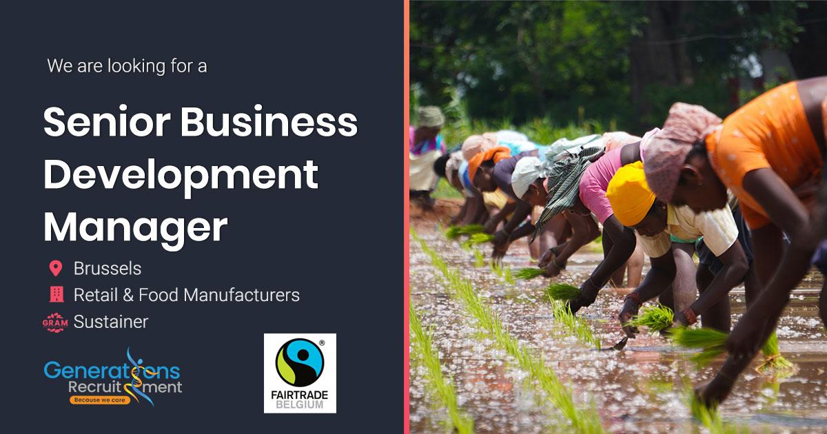 Sr Business Development Manager OOH B2B & Coffee  | Fairtrade