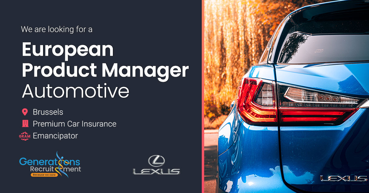 European Product Manager- Premium Car Insurance I Automotive / Insurance