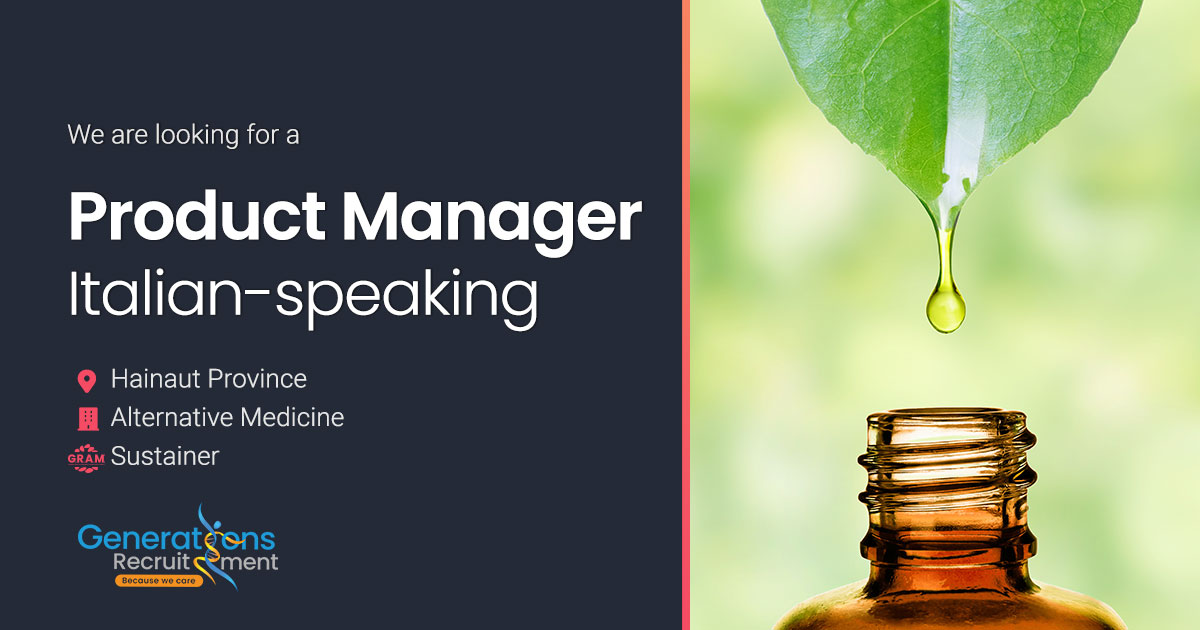 Product Manager - Italian-speaking | Alternative Medicine