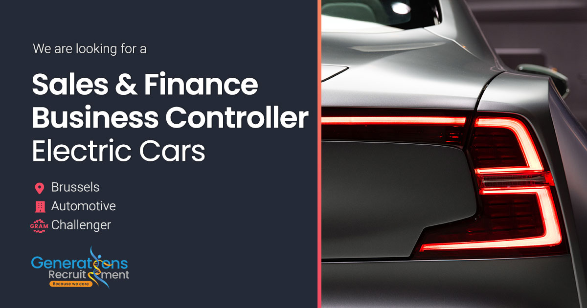 Sales & Finance Business Controller - Electronic Vehicles I Automotive