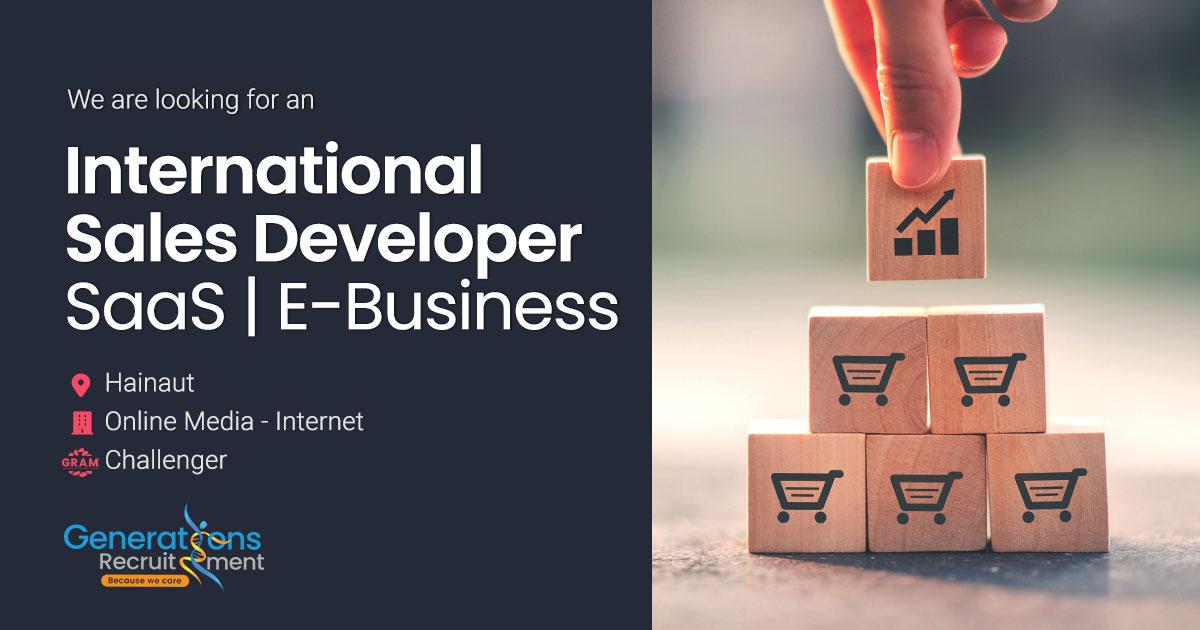 International Sales Developer I SaaS - E-Business