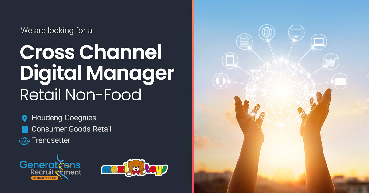 Cross channel Digital Manager | Retail Non-Food