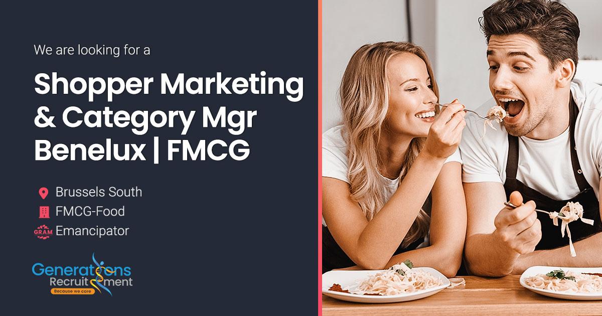Shopper Marketing & Category Manager Benelux | FMCG