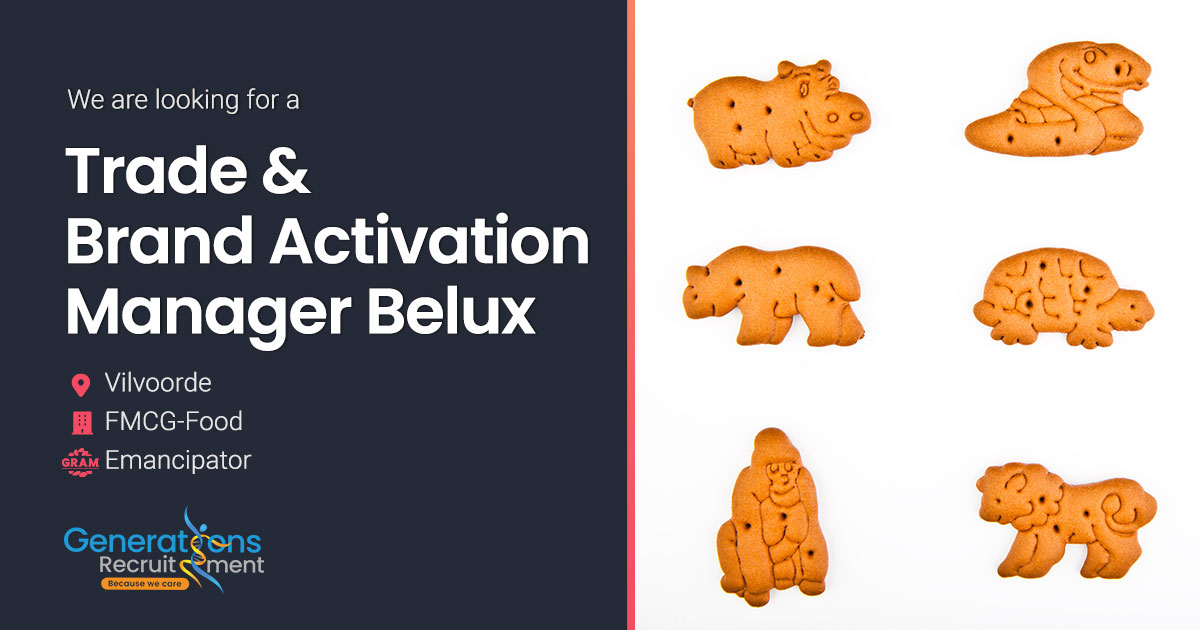 Trade & Brand Activation Manager Belux I FMCG-FOOD