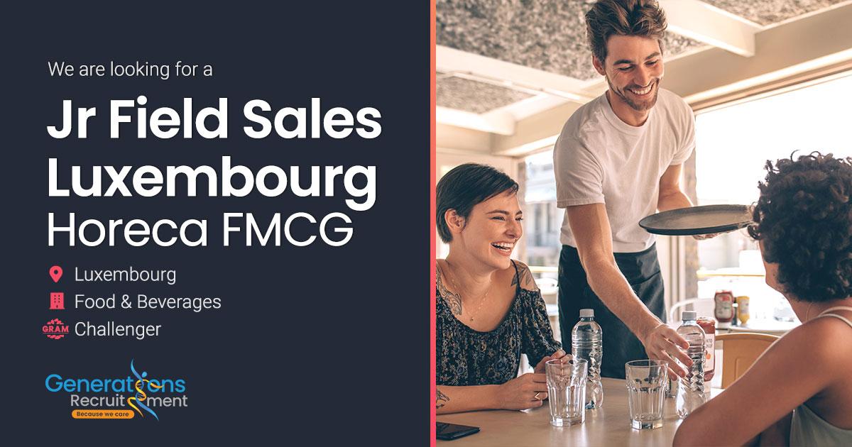 Field Sales Horeca Luxembourg (Junior) | FMCG