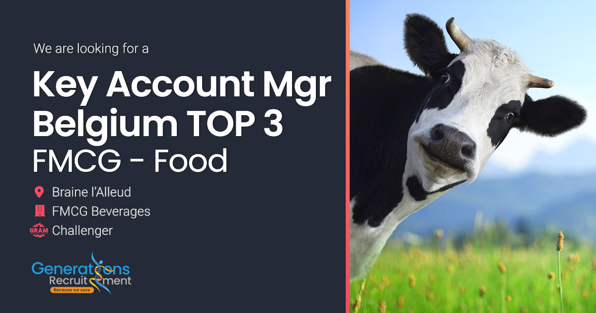 Key Account Manager Retail TOP3 I FMCG-FOOD