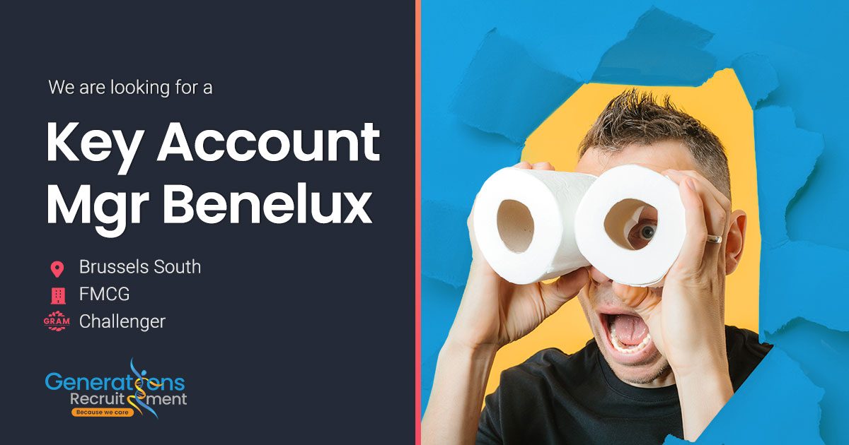 Key Account Manager Retail & E-Commerce Benelux | FMCG