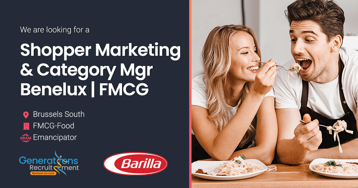 Shopper Marketing & Category Manager Benelux | FMCG