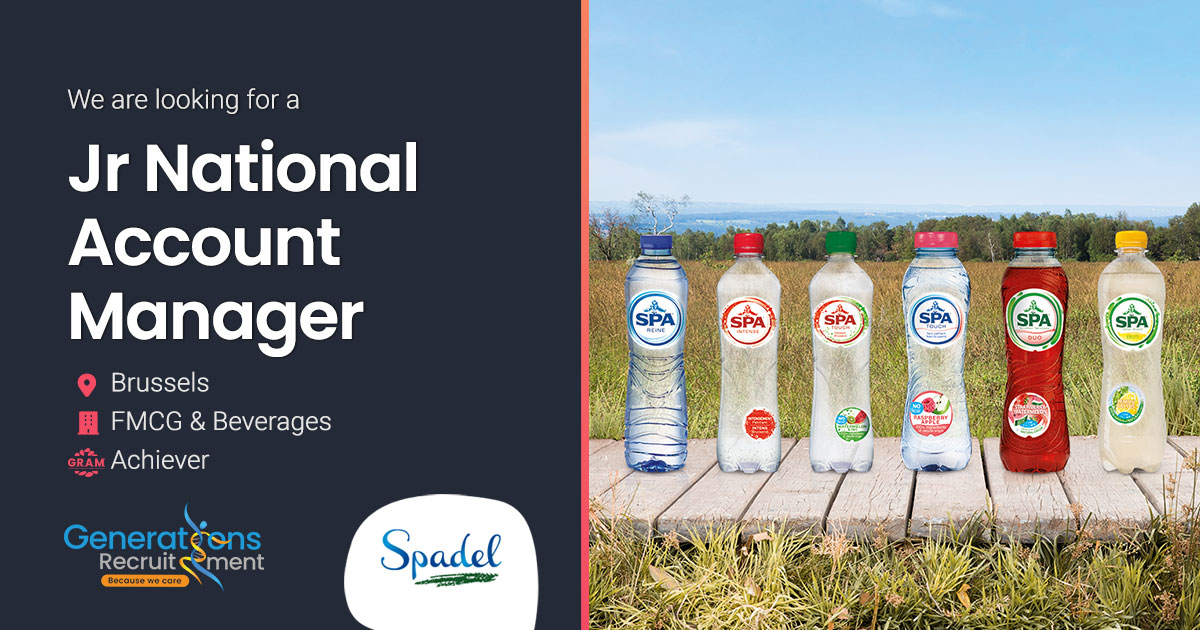 Junior National Account Manager Wholesalers | FMCG-Beverages