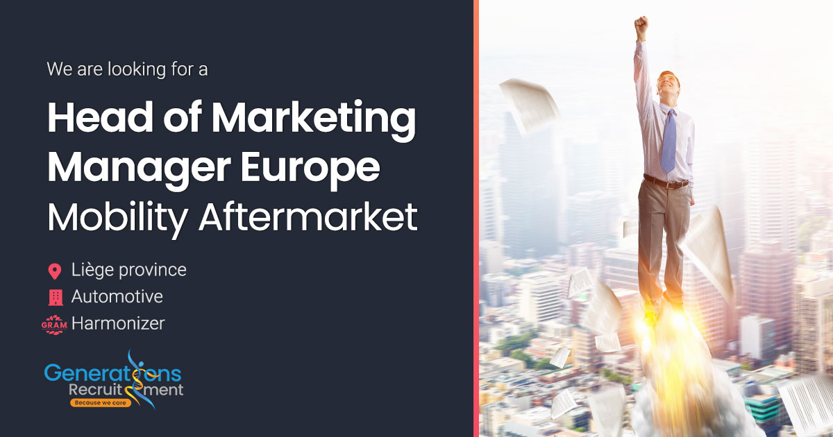 Head of Marketing Manager Europe I Mobility Aftermarket