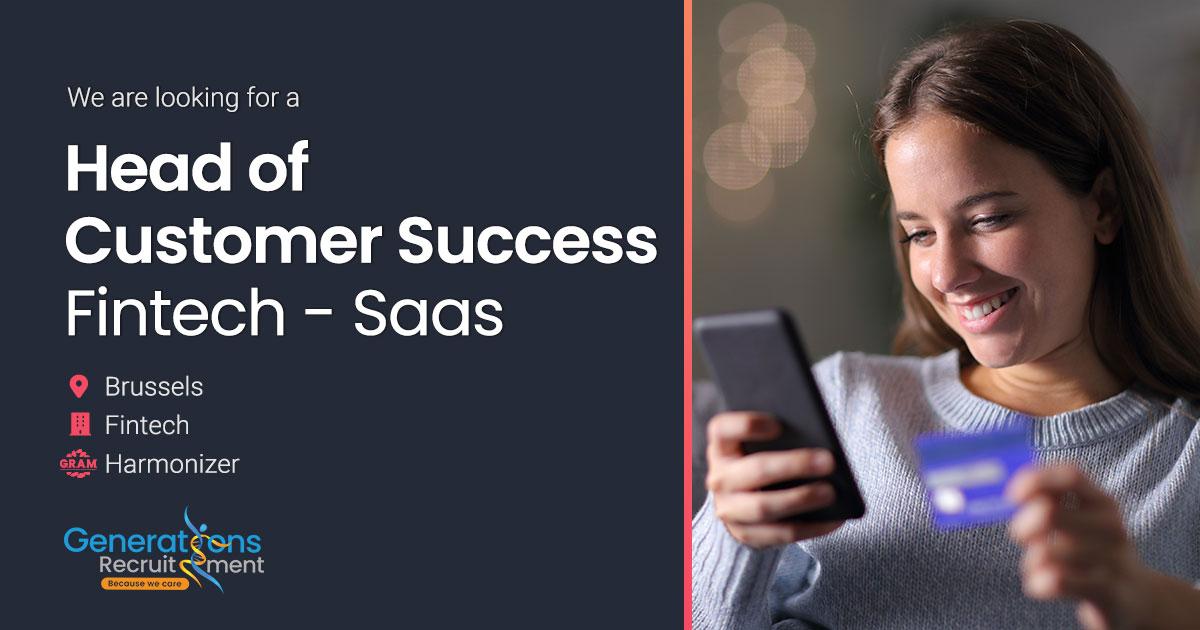 Head of Customer Success I SaaS FinTech