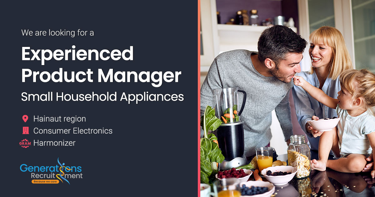 Experienced Product Manager | Small Household Appliances