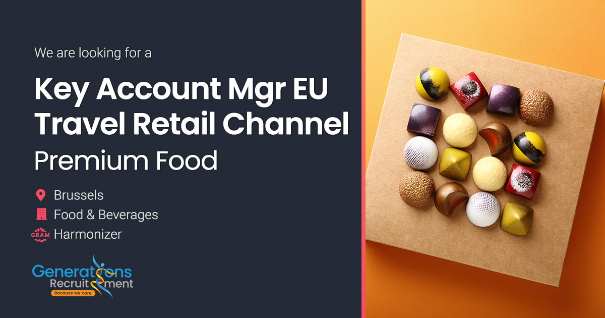 Key Account Manager Europe - Travel Retail Channel | Premium Food