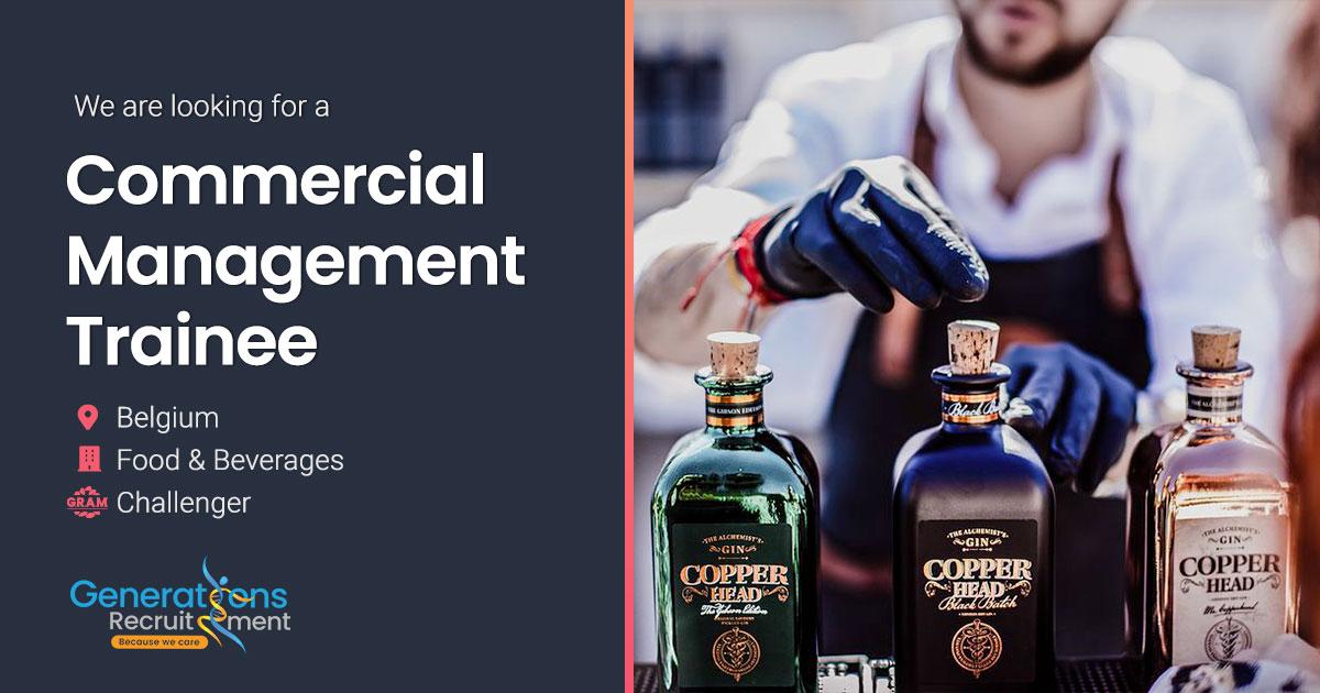 Commercial Management Trainee NL/FR/EN