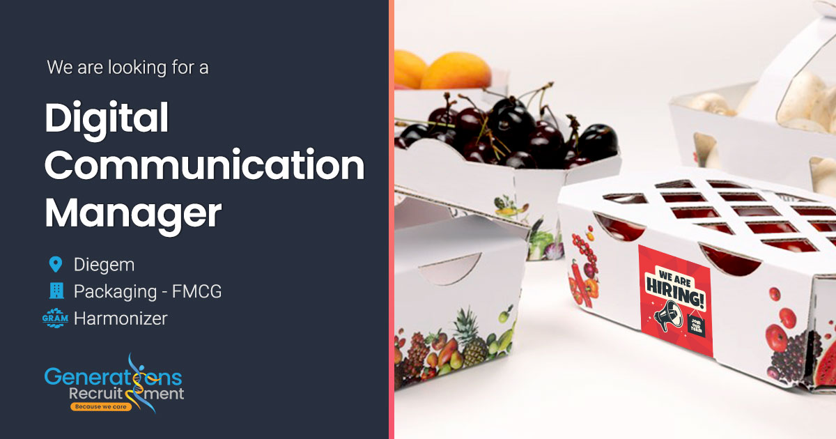 Digital Communication Manager I Packaging - FMCG