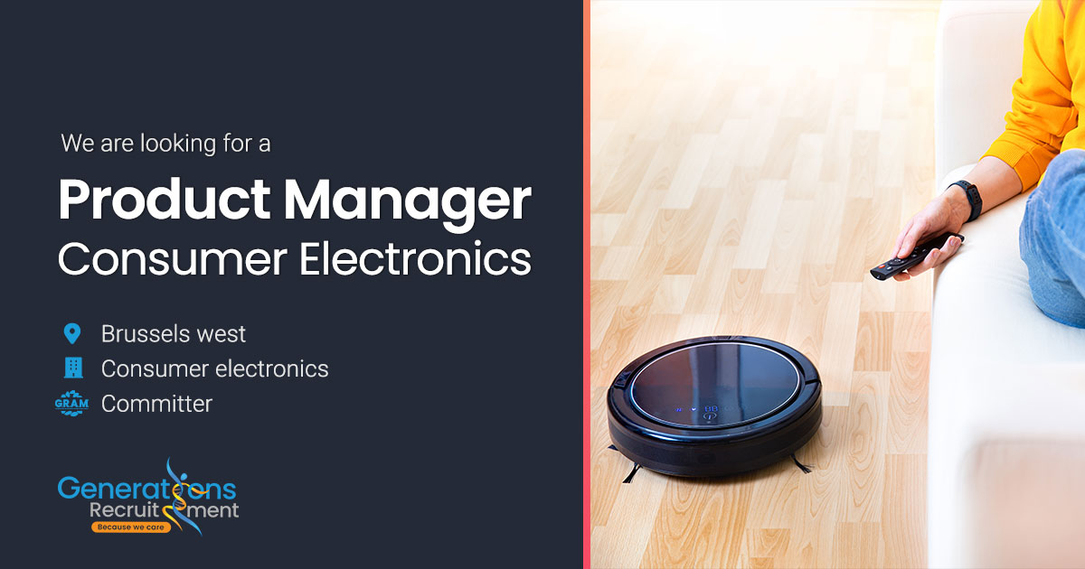 Product Manager   Consumer Electronics