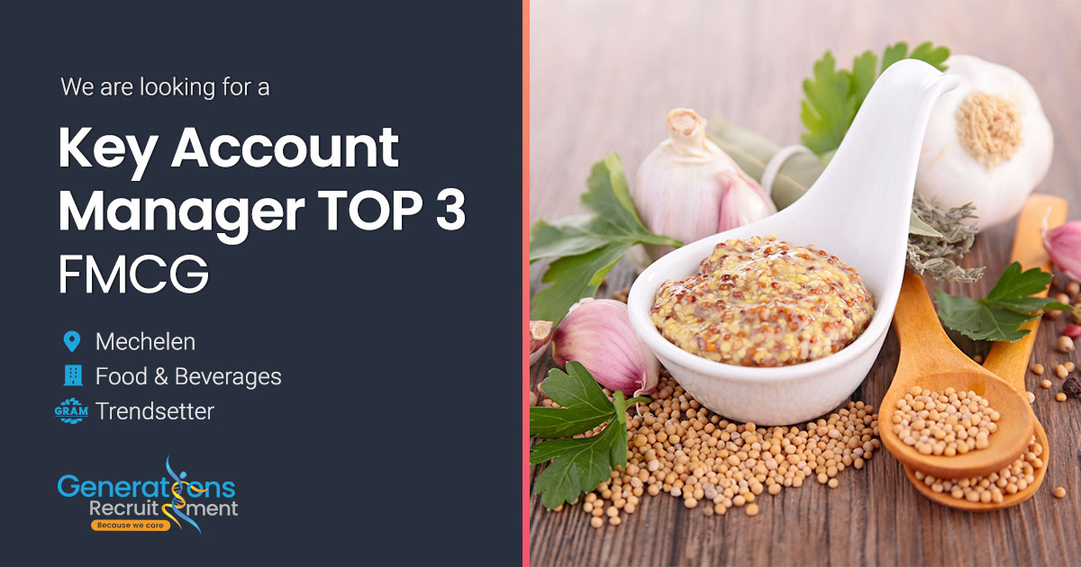 Key Account Manager TOP 3 | FMCG