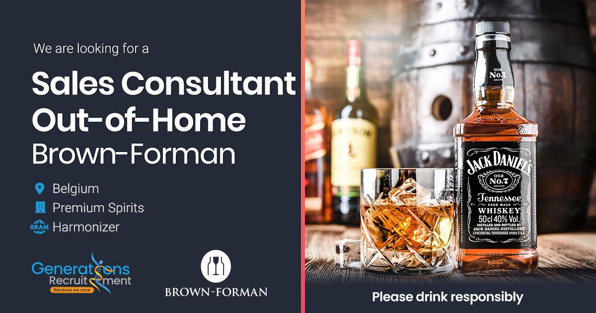 Sales Representative Out-of-Home | Premium Spirits